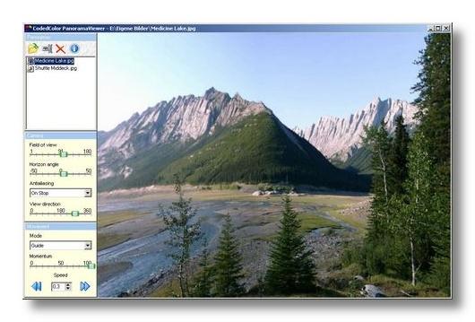 panorama viewer