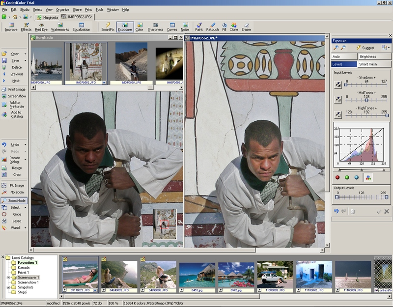 CodedColor PhotoStudio Pro Screen shot